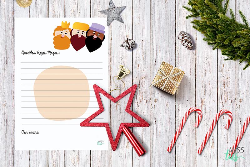 Cartas Reyes Magos y Papá Noel