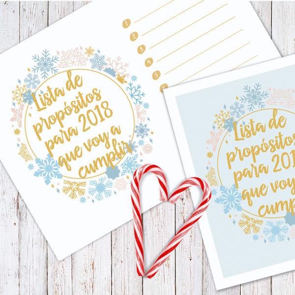 propósitos año nuevo 2018