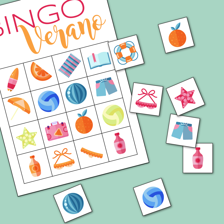 Bingo verano freebie