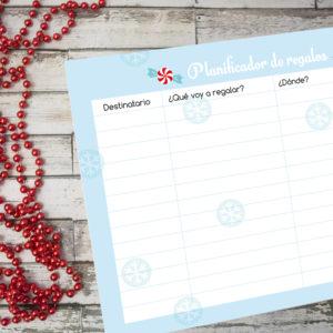 Planificador de regalos