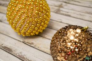 DIY Bolas Navidad