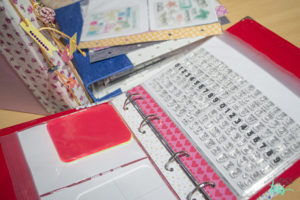DIY Archivadores para troqueles y sellos