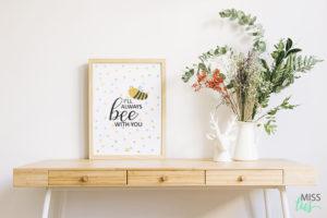 laminas para decorar abeja