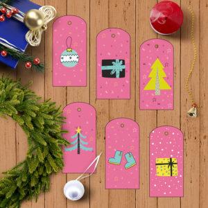 etiquetas navidad regalos