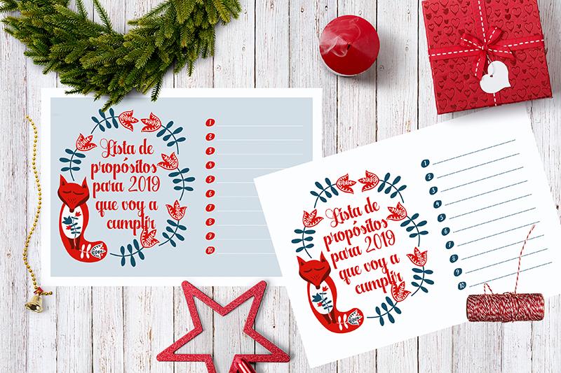 propósitos año nuevo 2019