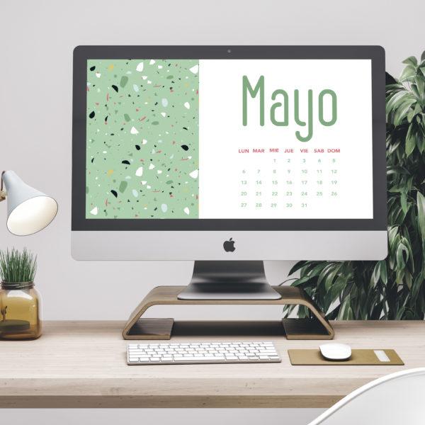 Calendario para Mayo 2019