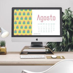 Calendari Agosto 2019