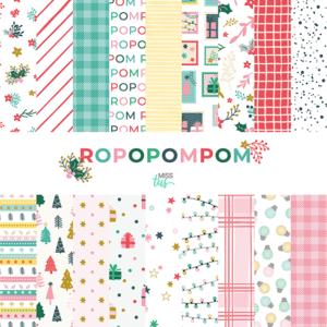 colección de papeles Ropopompom